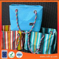 Buy cheap Textilene mesh fabric to do bag reuse Easy clean for shoping bag from wholesalers
