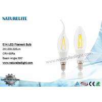 Wholesale COB e26  2W Led Light Bulbs 200 - 220 lm 360 Degree AC110 / 220V from china suppliers
