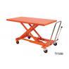 Buy cheap Orange Mechanical Scissor Lift , Hydraulic Table Cart Trolley Scissor Lift from wholesalers