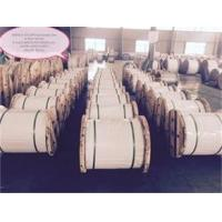 Wholesale Astm A475 Class A 1x7 Galvanized Steel Wire Cable , 1 4 Galvanized Cable For Construction Materials from china suppliers