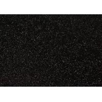 Quality Black Glitter Card Stock Paper for sale