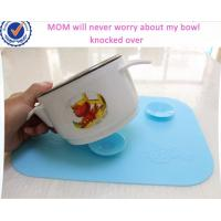 Wholesale Fashion Suction Cup Style Kids Silicone Table Mat,Baby Silicone Placemat from china suppliers