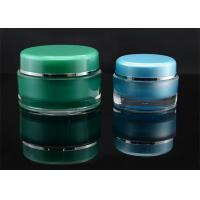 Wholesale PP PE Cylinder Acrylic Cream Jar And Containers 15ml 30ml 50ml With Screw Cap from china suppliers
