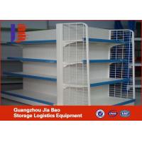 Wholesale Customized Supermarket Gondola Shelf Single / Double side 80kg from china suppliers