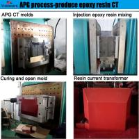 best selling automatic injection moulding apg machine  for high voltage instrument transformer for sale
