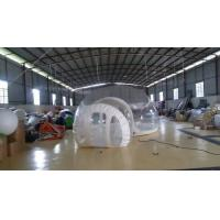 Wholesale Inflatable Transparent Bubble Tent Belt Steel for Outdoor Camping from china suppliers