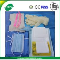 Wholesale AAMI Level 4 nonwoven dispoisable sterile baby delivery kits/pack from china suppliers