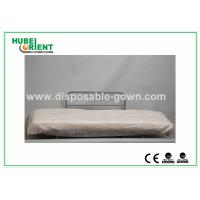 Wholesale Hospital Disposable Bed Sheets Sanitary PP Bedcover / Disposable Waterproof Sheets With Elastic from china suppliers