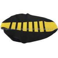 Wholesale PVC Water Proof Double Stitched Gripper Ribbed Seat Cover Suzuki DRZ 400 00 - 17 from china suppliers