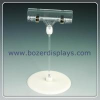 Wholesale Shenzhen factory produce plastic pop sign clip with base from china suppliers