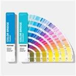 Wholesale Solid Coated / Uncoated Paper Paint Color Cards 2019 Pantone GP6102A Color Bridge Guide Set from china suppliers