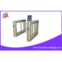 Wholesale Entry Pedestrian Waist High Swing Barrier Gate Face Recognition Attendance from china suppliers