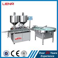 Quality Automatic Wax Filling Machine with Heating Mixing, Shoe Polish Filling Machine, Wax Production Line for sale