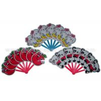 Wholesale Cartoon Animal / Fruit  Printed PP Hand Fans from china suppliers