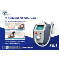 Wholesale 1600mj High Power Q Switched Nd Yag Laser Tattoo Removal Equipment / 1064 Nm 532nm Nd Yag Laser from china suppliers