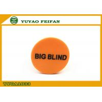 Wholesale ROHS / SGS PP Yellow Round Big Dealer Button Poker For Game from china suppliers