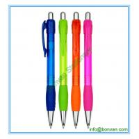 Wholesale gripped plastic promotional pen, gift use plastic pen from china from china suppliers