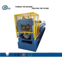 Wholesale 8.5 Kw Hydraulic Metal Roof Ridge Cap Roll Forming Machine / Roofing Sheet Making Machine from china suppliers