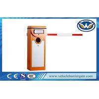 Wholesale Security Boom Automatic Parking Barriers With Led Screen , Customized Color from china suppliers