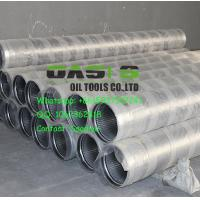 "Wholesale 8 5/8"" Johnson v wedge wire stainless steel water well pipe screens manfuacturer from china suppliers"