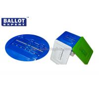 Quality Large Waterproof PP Plastic Ballot Box Lockable Use for Election , Plastic Collection Box for sale