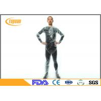 Wholesale Clear Plastic PE Disposable Sauna Suit sweat body suit  for Weight Loss / Exercise from china suppliers
