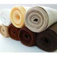 Wholesale various color wool pressed nonwoven felt,Fashion color wool felt from china suppliers