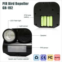 Wholesale Ultrasonic PIR bird repeller & solar bird repeller from china suppliers