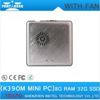 Wholesale Factory Price mini pc windows K390M with cooling fan thin client HDMI+VGA port from china suppliers
