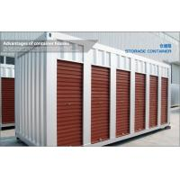Wholesale White Prefab Modified Shipping Container House for Household Cargo Storage from china suppliers