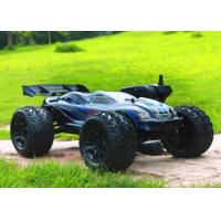 Wholesale 2.4 G Fast Speed 1/10 Scale RC Truggy Metal Chassis , Dual Motor RC Car from china suppliers