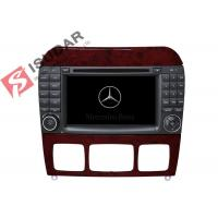 Wholesale 1024 * 600 HD 7 Inch Mercedes S Class Dvd Player , Mercedes Benz Car Stereo OBD Support from china suppliers
