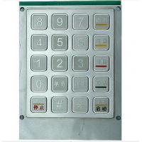 Buy cheap 20keys Waterproof FUEL/GAS DISPENSER  Industrial Metal Keyboard , Metal Numeric Keypad from wholesalers