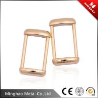 Wholesale Gold-plated custom metal die casting bag buckle,metal bag buckle 16.78*30.6mm from china suppliers