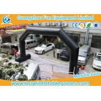Wholesale 0.4mm PVC Tarpaulin Inflatable Advertising Products , Inflatable Arch from china suppliers
