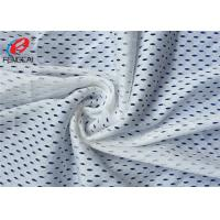 Wholesale White Dry - Quick Polyester Sprots Mesh Fabric Warp Knitted Lining Fabric from china suppliers
