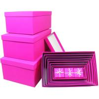 Wholesale Folding decorated kraft gift box custom , luxury handmade boxes for gifts from china suppliers