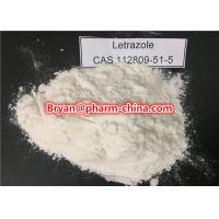 Wholesale Anti Estrogen Female Anabolic Steroids Letrozole / Femara 112809-51-5 Treatment Metastatic Breast Cancer from china suppliers