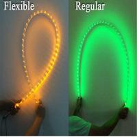 Quality Fiber Optic Light Whip With Remote Control , RGB Quick Light Whips With Flag for sale