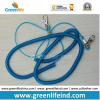 Wholesale 1m Elastic Spiral Plastic Coil Cord Belt for Fishing Using from china suppliers