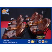 Wholesale Multi Person Interactive XD Movie Theater 6DOF 4 Platforms 48 Audience from china suppliers