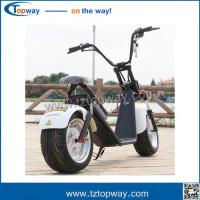 Wholesale 2017 crazy sell fashion vehicle 1000w harley citycoco electric scooter 70kg weight from china suppliers