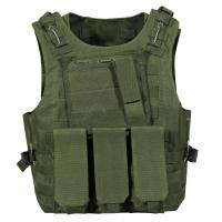 Wholesale Police Camouflage Tactical Vest with different size's Magazine bag from china suppliers