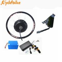 Wholesale 72v 5kw rear motor Electric Bike Conversion kit  for enduro ebike  kit and motorcycle kit with lithium battery from china suppliers
