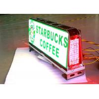 Quality 1/12 Scan Outside Led Taxi Sign / Car Led Sign Display High Brightness for sale