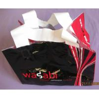 Wholesale Classic Soft Loop Handle Bag / HDPE Boutique Bag for Advertising from china suppliers