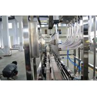 Wholesale Non - Carbonated Drink Automatic Filler Machine 5L 1000bph Stright Liner from china suppliers