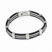 Wholesale 316L Stainless Steel Bracelet, Various Styles Available from china suppliers