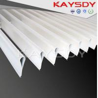 Wholesale Water Drop Strip Aluminium Screen Ceiling , Indoor Commercial Drop Ceiling Tiles from china suppliers