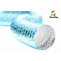 Wholesale Single-sided or double-sided aluminum foil/ polyester flexible ducting from china suppliers